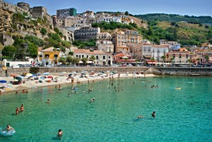 Summer in Pizzo Calabro, Calabria, Italy