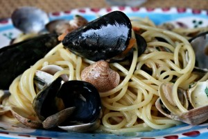 Try local specialities in Ischia, Campania, Italy