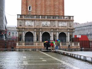 Acqua alta in Venice, Vento, Italy