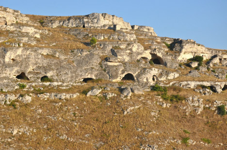 Sassi caves, Matera, Basilicata, Italy