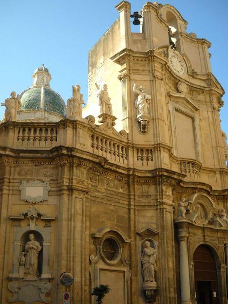 Chiesa delle Anime Sante del Purgatorio, Trapani, Sicily, Italy