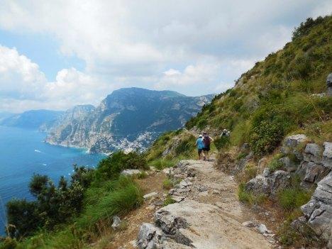 Foot Path of the Gods, Positano, Amalfi, Campania, Italy