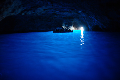 Blue Grotto, Capri, Campania, Italy