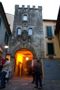 Arcidosso streets, Tuscany, Italy