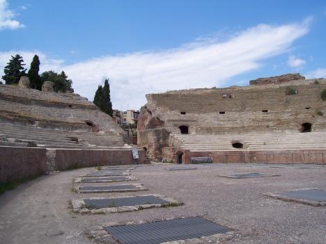 Flavian amphiteater, Pozzuoli, Campania, Italy