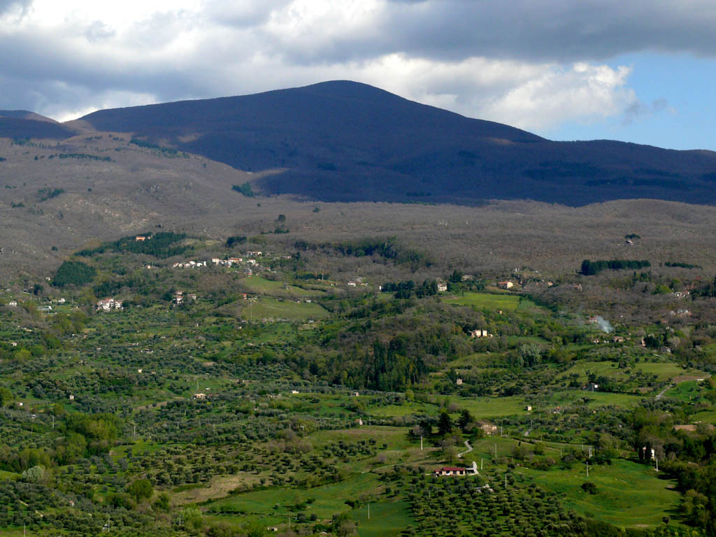 Monte Amiata – the highest extinct volcano in Italy