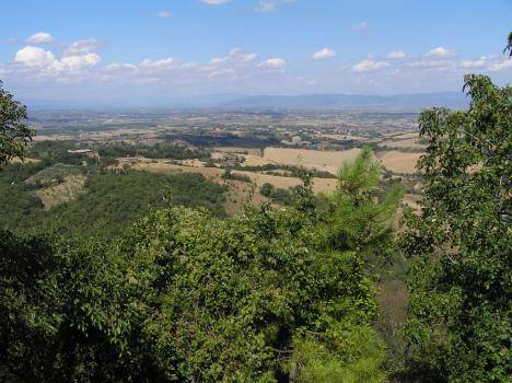 Val di Chiana, Arezzo, Tuscany, Italy