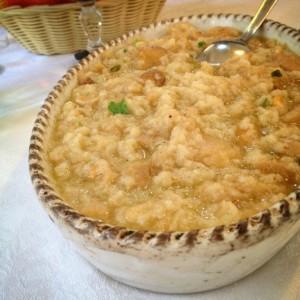 Acquacotta soup
