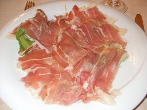 Prosciutto crudo di Parma, Italy