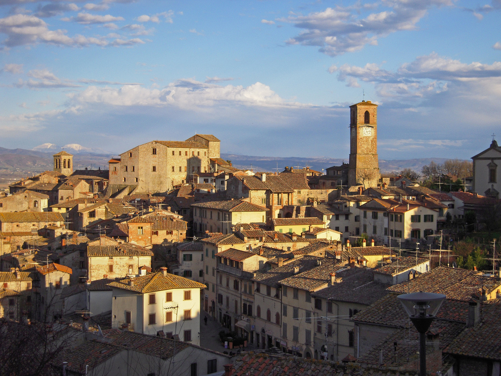 Most beautiful towns in the province of Arezzo, Tuscany