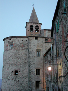 Church of Sant'Agostino, Anghiari, Arezzo, Tuscany, Italy