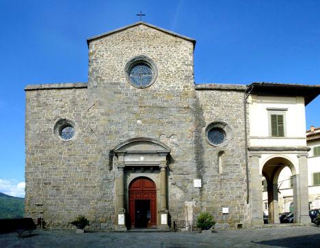 Cortona Cathedral, Arezzo, Tuscany, Italy