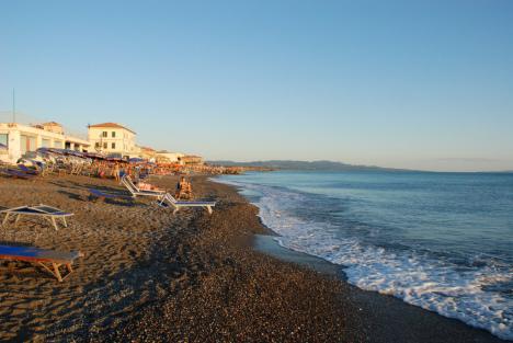 Marina di Cecina beach, Tuscany, Italy