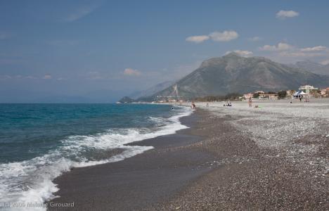 Praia a Mare beach, Calabria, Italy