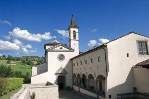 Sanctuary of Santa Maria del Sasso, Bibbiena, Arezzo, Tuscany, Italy