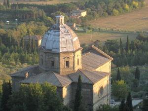 Church of Santa Maria delle Grazie al Calcinaio, Cortona, Arezzo, Tuscany, Italy