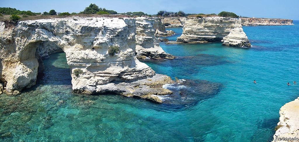 Torre Sant'Andrea beach, Puglia, Italy