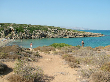 Calamosche beach, Sicily, Italy