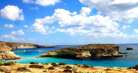 Isola dei Conigli, Lampedusa, Sicily, Italy