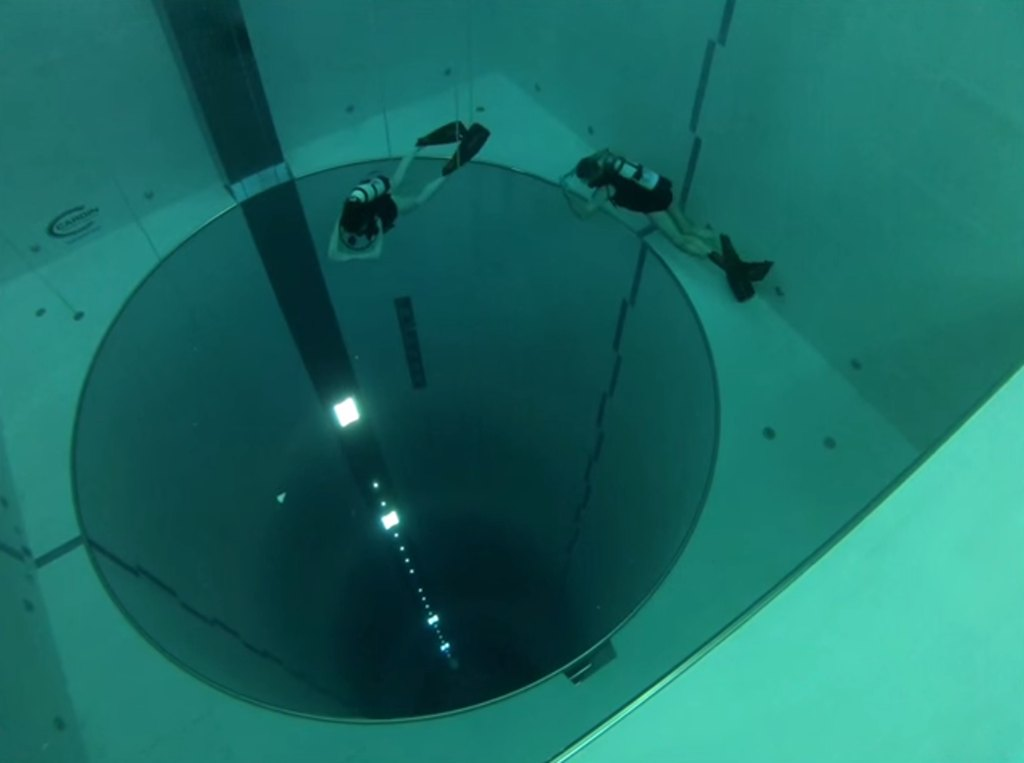 Italy has the deepest pool in the world – Y-40 The Deep Joy!