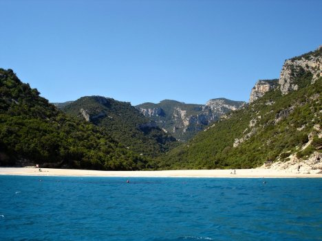 Cala Sisine, Sardinia, Italy