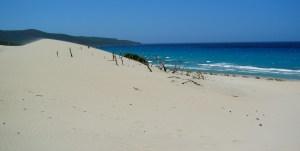 Dune of Porto Pino beach, Sardinia, Italy