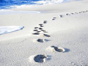 Is Arutas - white rice-sand beach, Sardinia, Italy