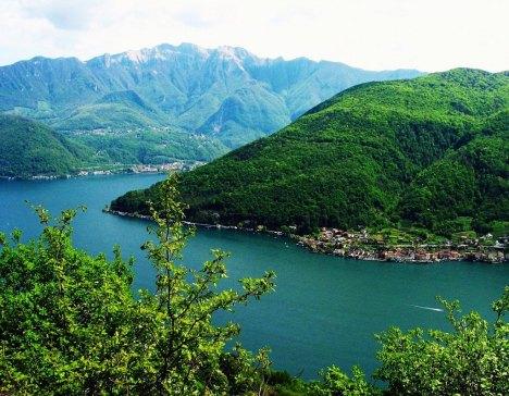 Monte San Giorgio, Lago di Lugano, Italy