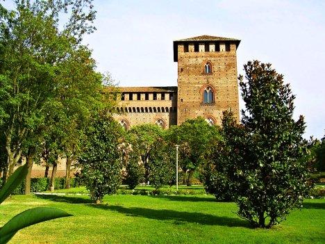 Castello Visconteo, Pavia, Lombardy, Italy