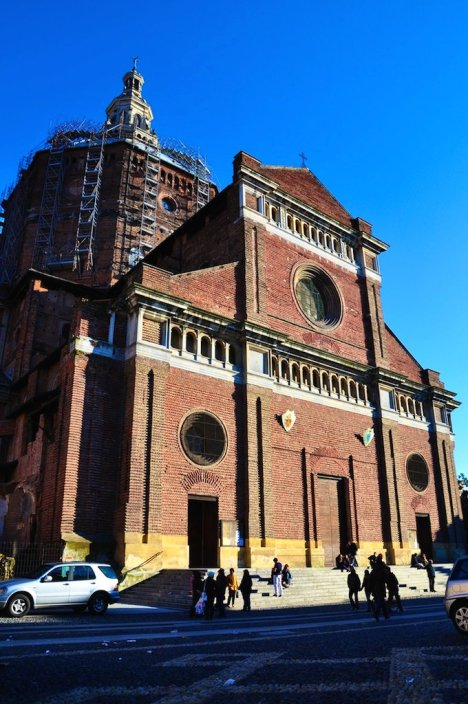 Pavia Cathedral, Lombardy, Italy