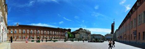 Piazza Castello, Turin, Piedmont, Italy