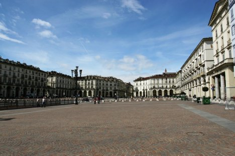 Piazza Vittorio Veneto, Turin, Piedmont, Italy