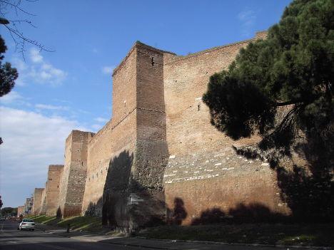 Aurelian Walls, Rome, Lazio, Italy