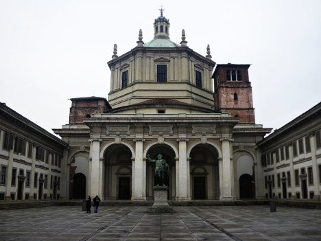 Basilica of San Lorenzo, Milano, Lombardy, Italy