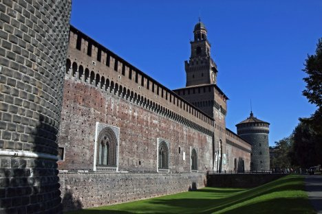Castello Sforzesco, Milano, Lombardy, Italy