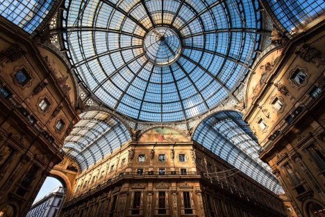 Galleria Vittorio Emanuele II, Milano, Lombardy, Italy
