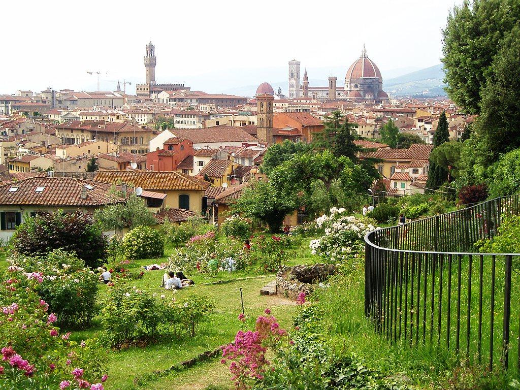 Giardino delle rose florence tuscany italy - Giardino delle rose firenze ...