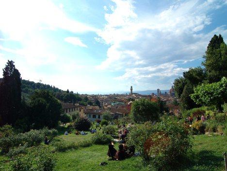 Giardino delle Rose, Florence, Tuscany, Italy