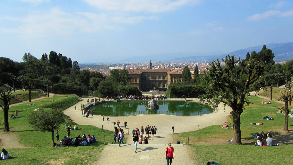 Most beautiful gardens in Florence