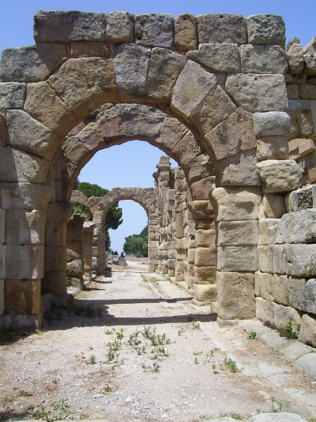 Greek - Roman ruins at Tindari, Sicily, Italy