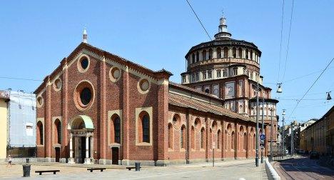 Santa Maria Delle Grazie Church, Milan, Lombardy, Italy