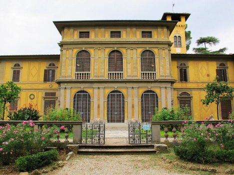 Stibbert Museum in Florence, Tuscany, Italy