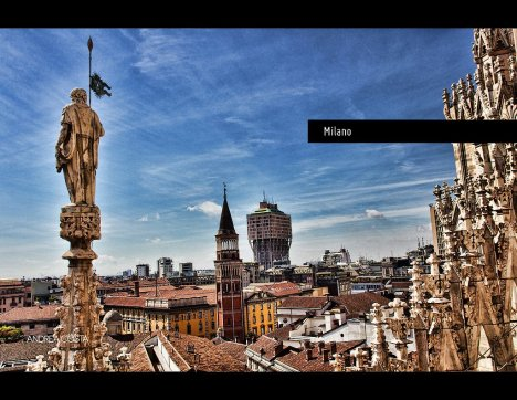 Torre Velasca, Milano, Lombardy, Italy