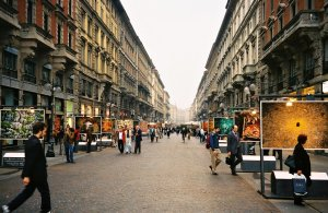 Via Dante, Milano, Lombardy, Italy