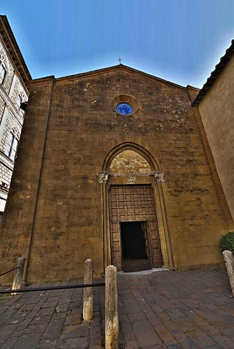 Church of St. Francis (San Francesco), Pienza, Tuscany, Italy