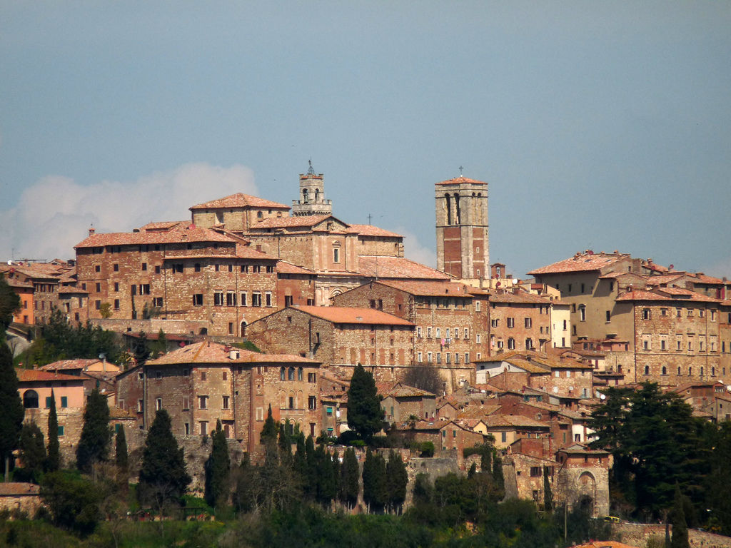 Montepulciano tuscany italy for Is florence in tuscany