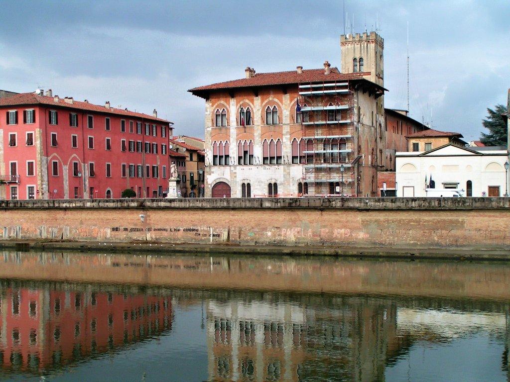 Palazzo Vecchio De Medici Pisa Tuscany Italy