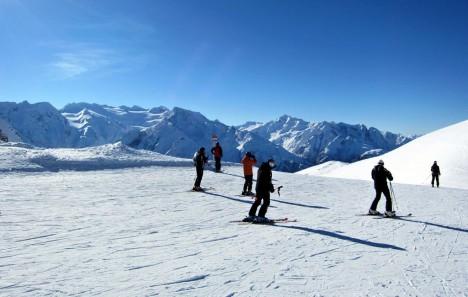Skiing in Passo Tonale, Trento, Italy - 2