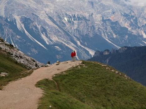 Dolomites near Cortina d'Ampezzo, Italy