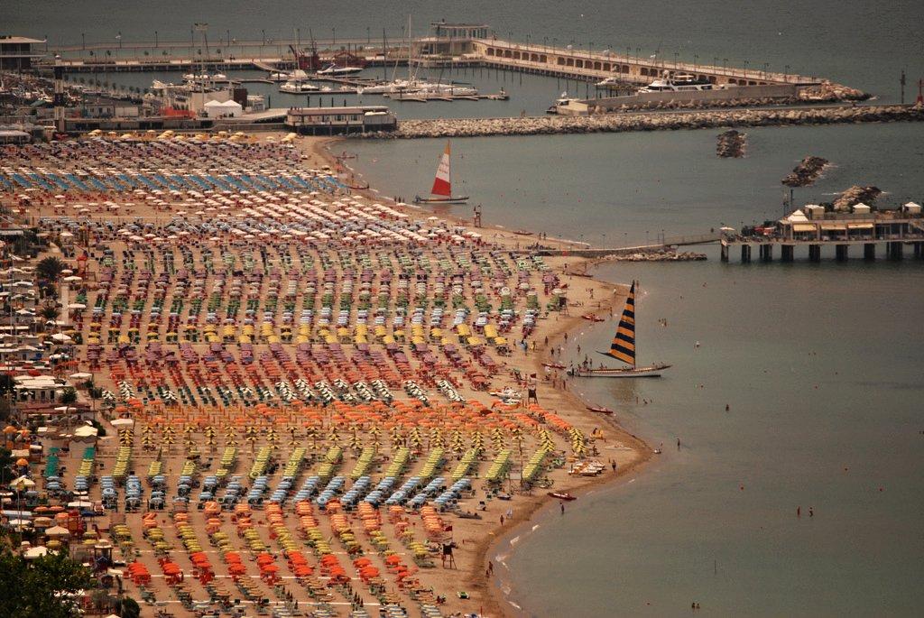 Gabicce – seaside resort at the Palm Riviera